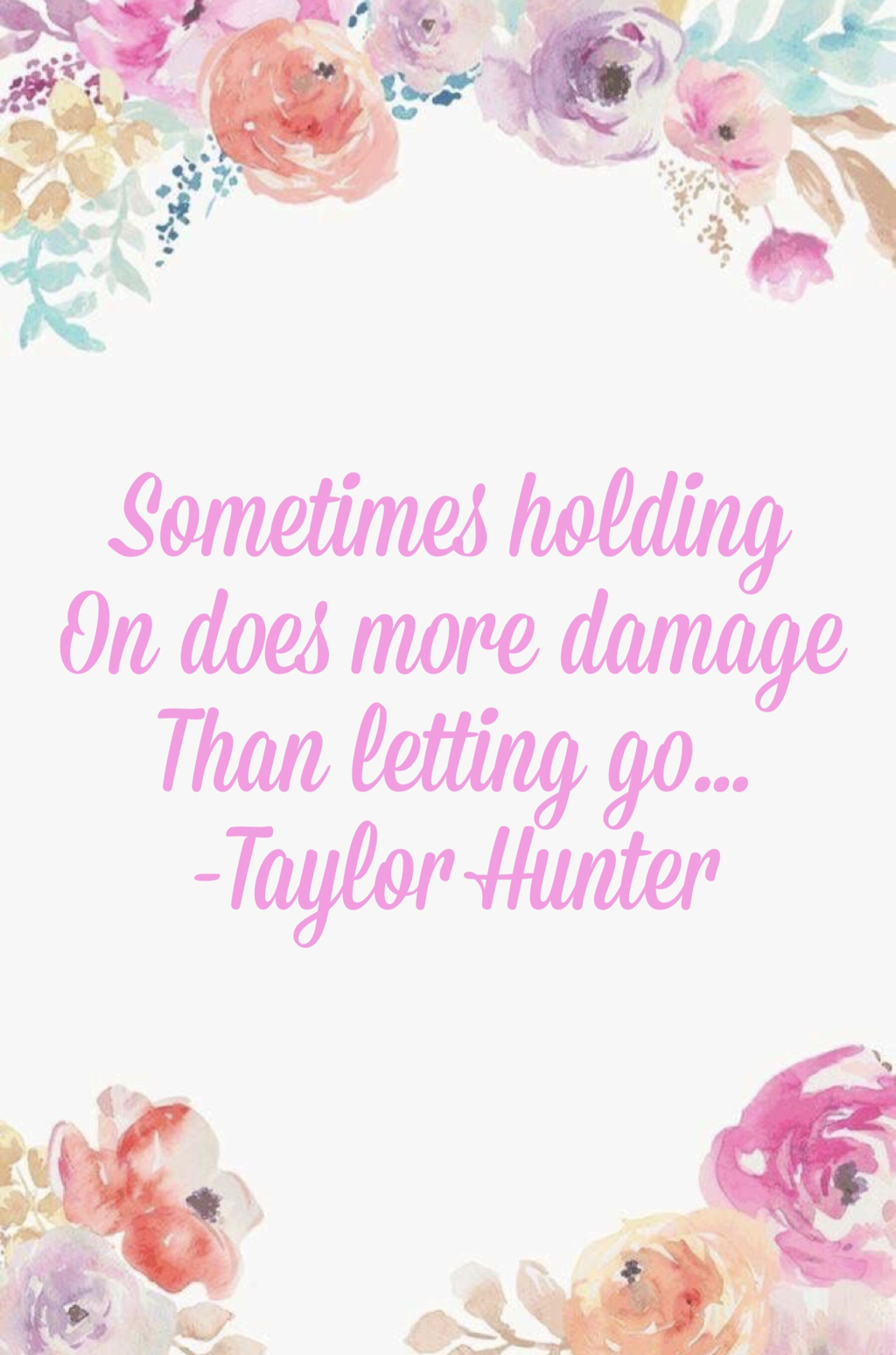 Letting Go Taylor Hunter Glory And Grace